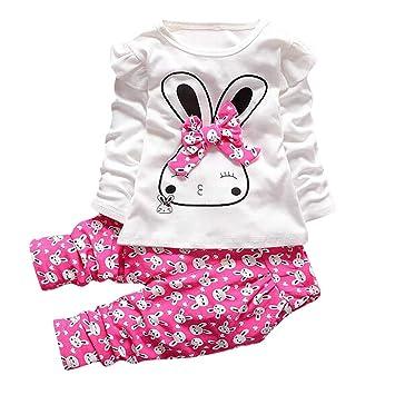 dcc371aef722c ワンピース 子供服 Timsa ベビー服 女の子 赤ちゃん服 春秋冬 洋服 ワンピース かわいい ウサギ柄 長袖