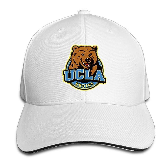 UCLA Bruins de fútbol americano Logo Unisex Solid Gorra de plato ...