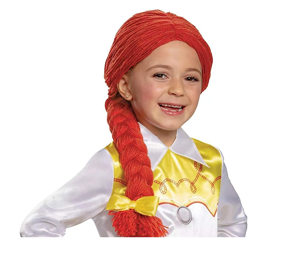 Toy Story 4 Jesse Child Wig Costume Red