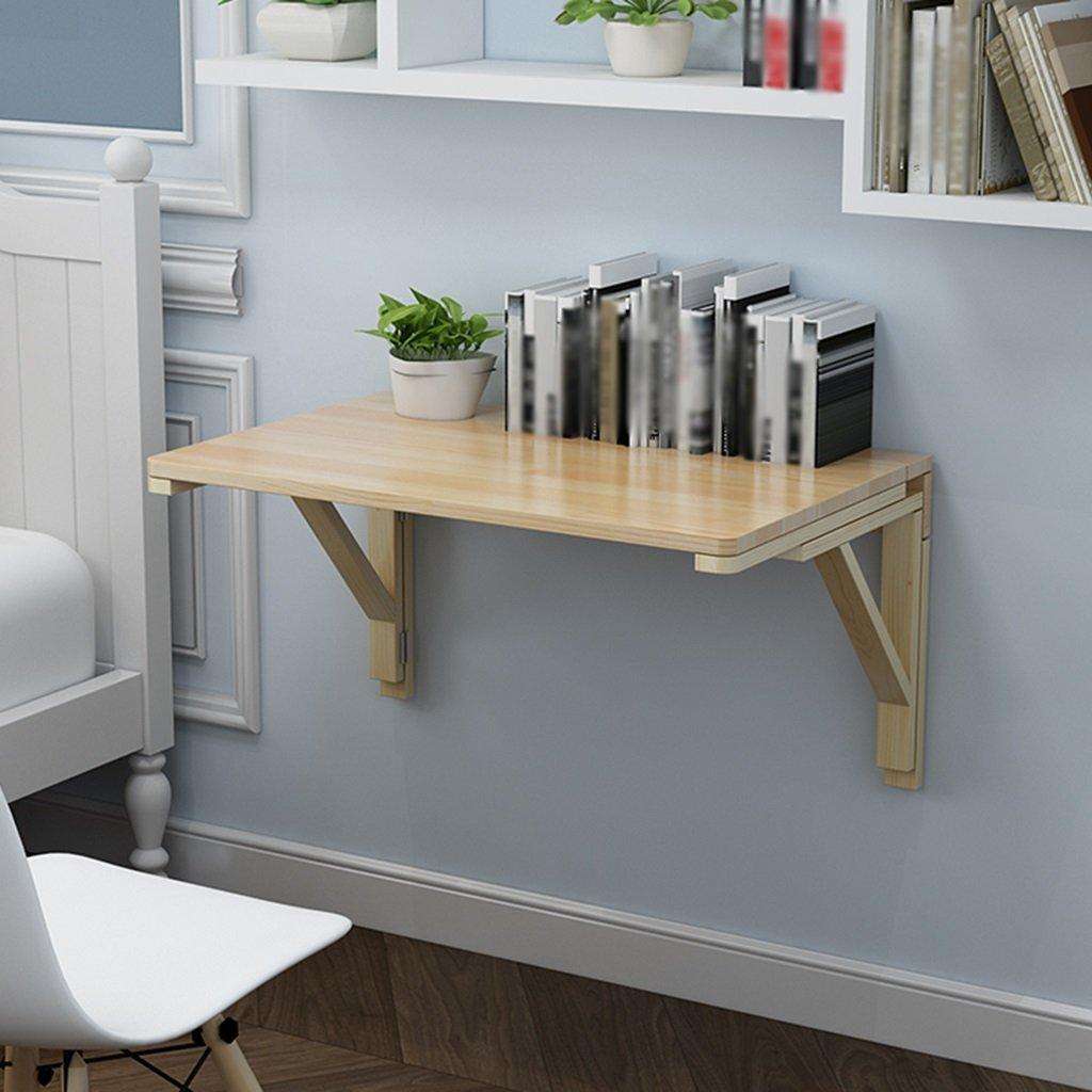 コンピュータデスク壁掛け折りたたみテーブルソリッドウッドダイニングテーブル壁掛けサイドテーブル ( サイズ さいず : 80cm*40cm ) B07BSRLBJF 80cm*40cm 80cm*40cm