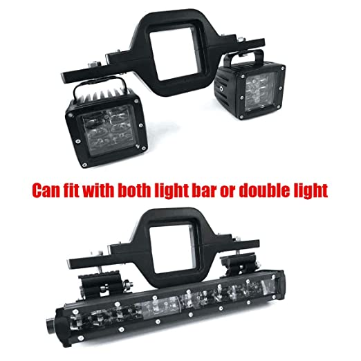 Amazon deselen lp mb24p3 tow hitch bracket mounting kit for amazon deselen lp mb24p3 tow hitch bracket mounting kit for 2 inches class iii iv trailer hitch fit dual led light bar as backup reverse lights aloadofball Gallery