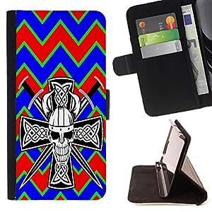 King Case - FOR Samsung Galaxy Core Prime - ?Fowering is past - Prima caja de la PU billetera de cuero con ranuras para tarjetas, efectivo Compartimiento desmontable y correa para la mu?eca