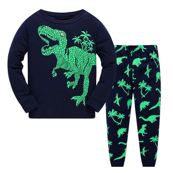 nuovo di zecca c14d1 7d81e Dinosauro Pigiami 2 Pezzi Bambini Pigiama Per Ragazzi ...