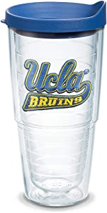 Tervis UCLA Bruins Logo Tumbler with Emblem and Blue Lid 24oz, Clear