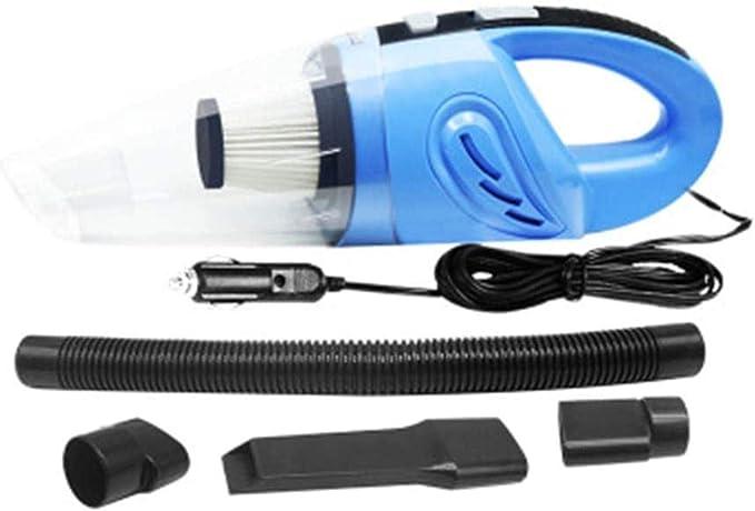 Compresor de Aire portátil Colector de Polvo de Mano del Coche del Aspirador portátil 120W Wet and Dry Sweeper Mini Coche Aspirador: Amazon.es: Hogar