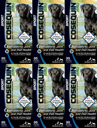 Nutramax Cosequin ASU Sport for Dogs 180ct (6 x 30ct) by Nutramax