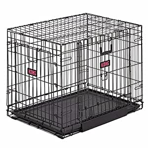 """Amazon.com : Kong Wire Crate 36"""" : Pet Supplies"""