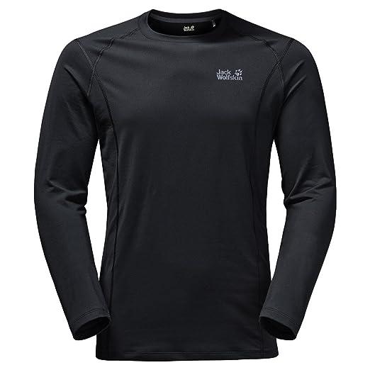 7118e28b225e9e Amazon.com: Jack Wolfskin Men's Hollow Range Long Sleeve Top: Clothing