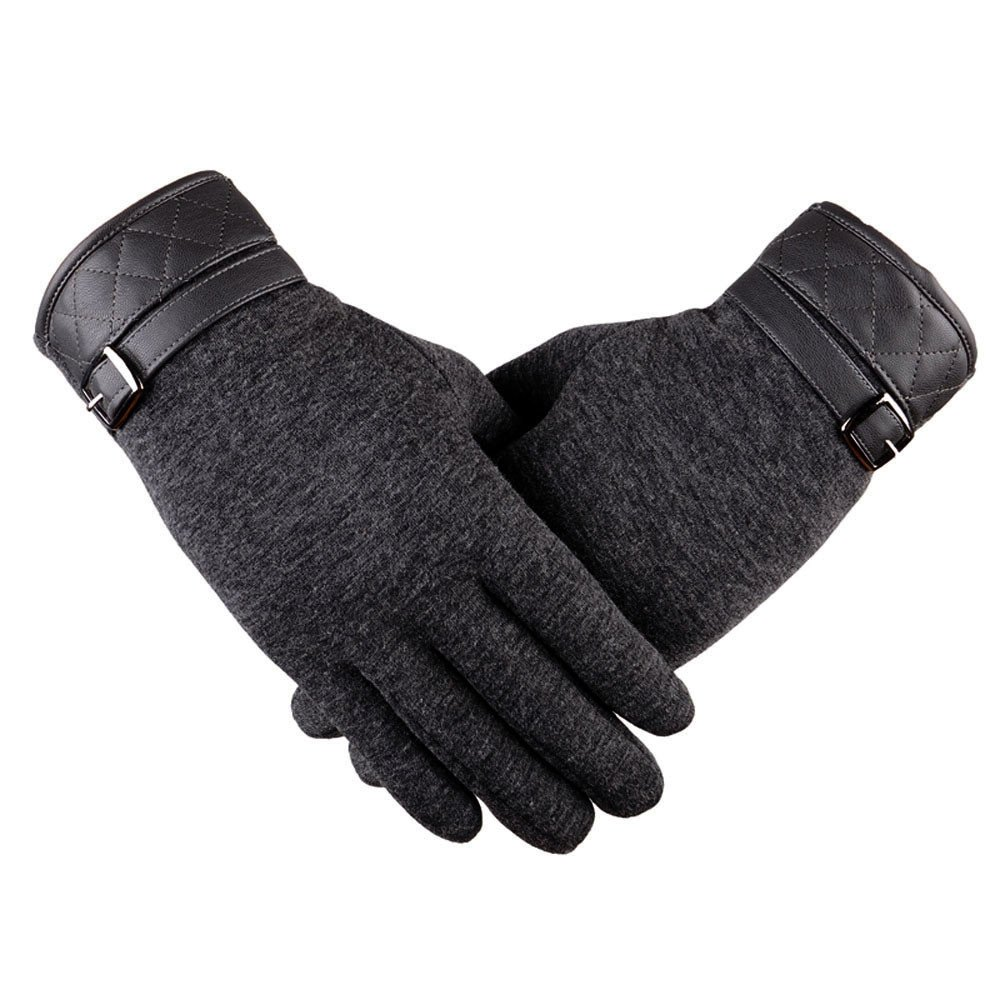 Loneflash Gloves, Women Fashion Winter Outdoor Sport Riding Drove Warm Gloves(1Pair) (Gray)