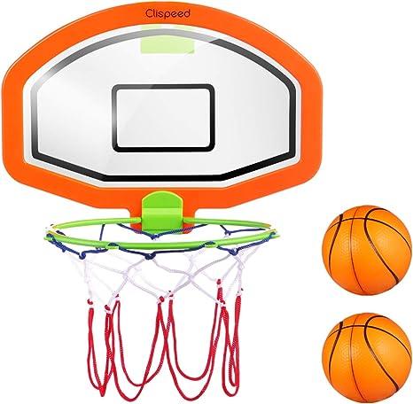 CLISPEED - Mini aro de Baloncesto con Pelotas para Jugar al ...