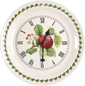 Portmeirion Pomona Red Apple Wall Clock 25cm