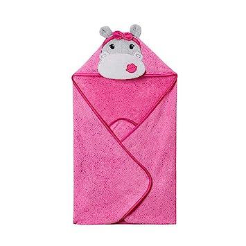 Susulv Toalla de baño Animal de algodón para niños Toalla de baño Animal de Dibujos Animados Lindo bebé Toalla para baño (Color : C): Amazon.es: Hogar