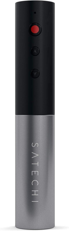 Satechi Aluminum Wireless Presenter Pointer Remote Control - Compatible with 2019 MacBook Pro, 2018 MacBook Air, iMac Pro/iMac, 2019 iPad, 2018 iPad Pro, iPhone 11 Pro Max/11 Pro/11 (Space Gray)