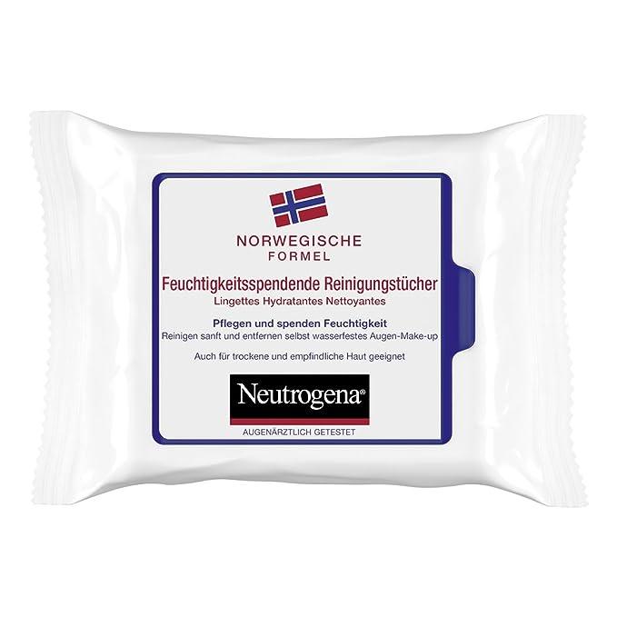 Neutrogena Árbol de Fórmula paños de limpieza, 6 unidades (6 x 25 unidades): Amazon.es: Belleza