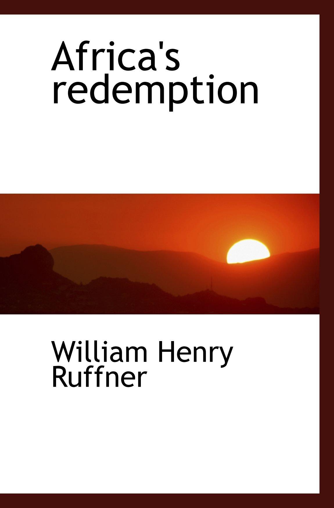 Read Online Africa's redemption ebook