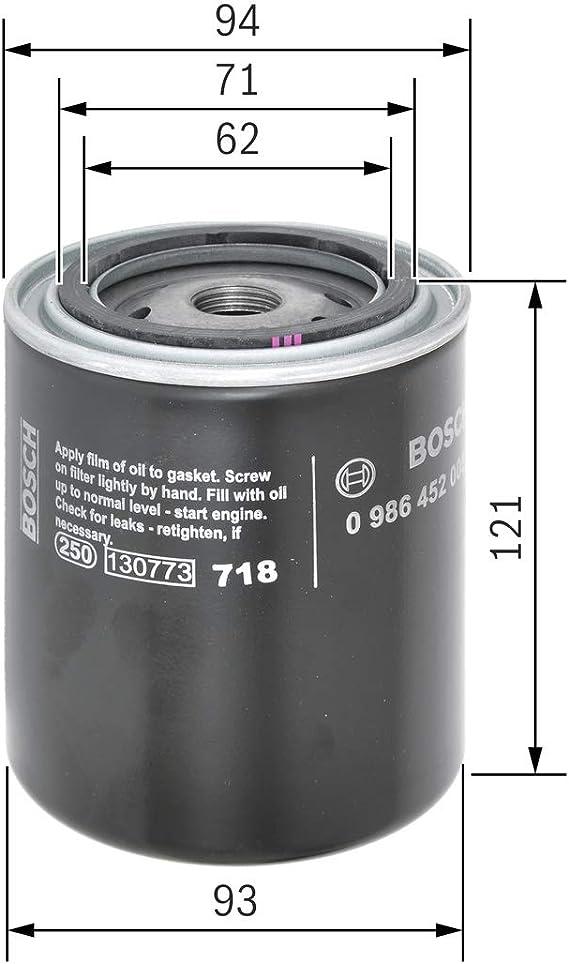 Bosch 986452005 Ölfilter Auto