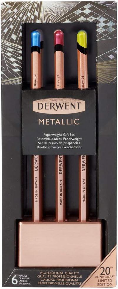 Derwent Fermacarte in rame metallizzato
