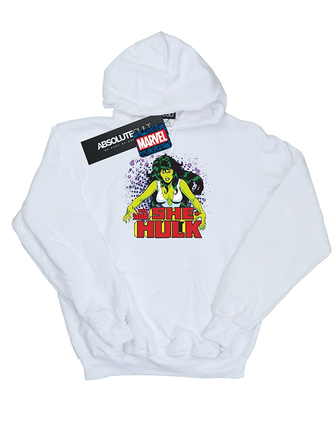 Marvel Universe Hombre The Savage She-Hulk Capucha: Amazon.es: Ropa y accesorios