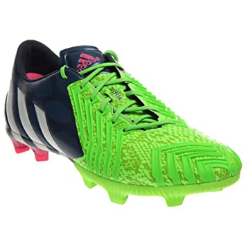 cheaper 6ec86 86d97 adidas Mens Predator Instinct FG (10) Blue Green