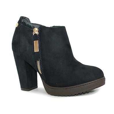 Botines de mujer - XTI modelo 47213 - Talla: 36: Amazon.es: Zapatos y complementos