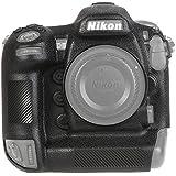 STSEETOP ニコン Nikon D5 スキンカバー シリコン保護ケース (Nikon D5, ブラック)