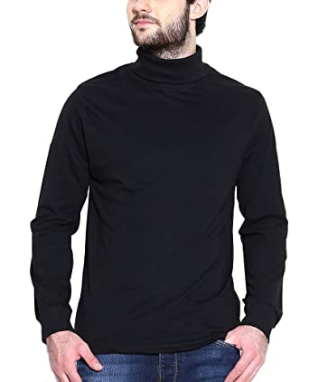53e77190ebe Dream of Glory Inc. Men s Full Sleeve Cotton High Neck T-Shirts Men Also in  Plus Sizes   XS - 9XL  Amazon.in  Clothing   Accessories