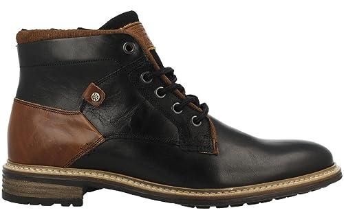BULLBOXER NIRINA Botines/Low Boots Hombres Negro Botas de caña Baja: Amazon.es: Zapatos y complementos