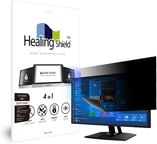 Blue-Light Anti-Glare Data Confidentiality 17 Monitor Privacy Screen Protection Filter Healing Shield Widescreen Monitor Anti-Scratch