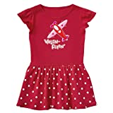 inktastic - Valen-Flyin'- Plane Toddler Dress 5/6