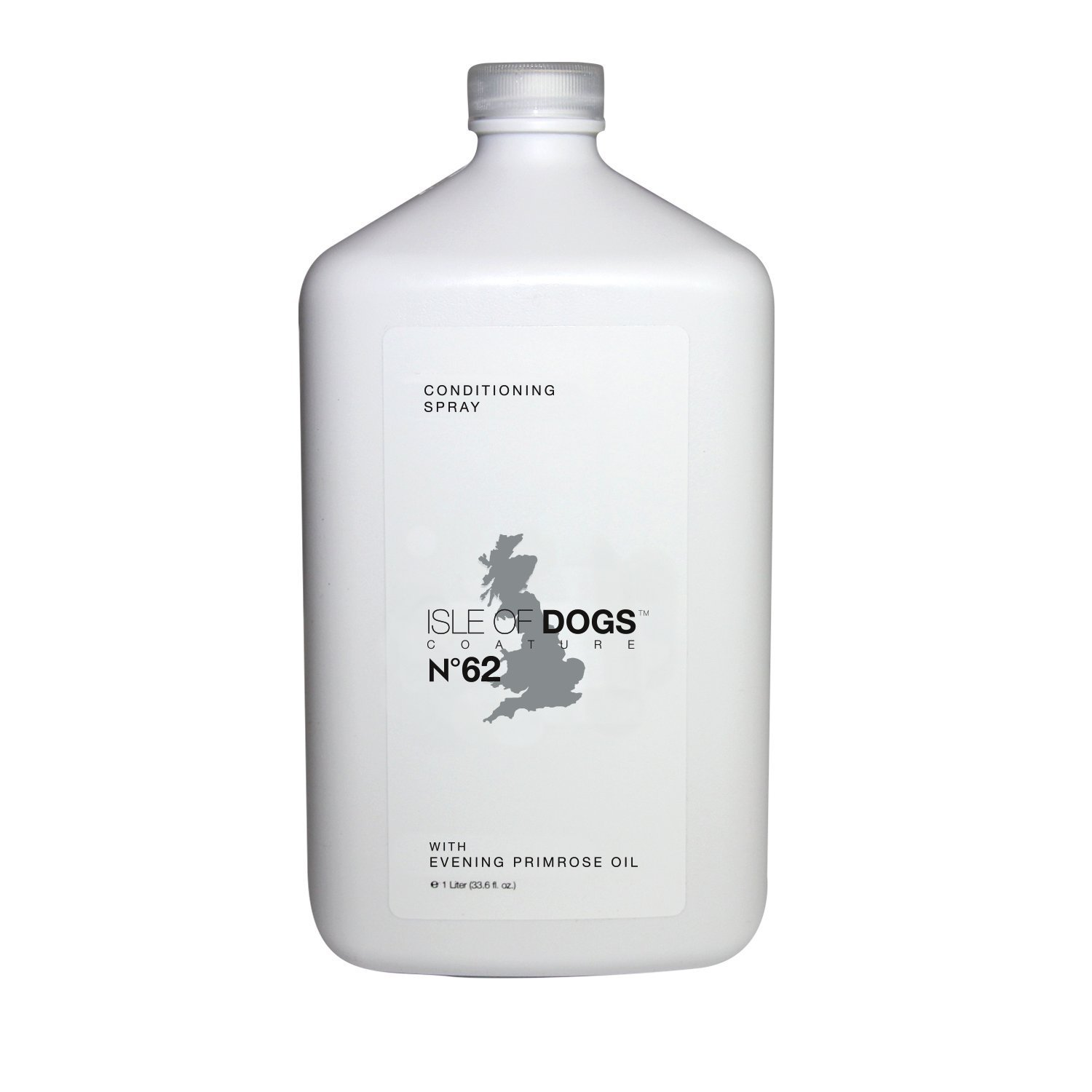 Isle of Dogs Coature No. 62 Evening Primrose Oil Dog Conditioning Mist for Dry or Sensitive Skin, 1 Liter by Isle of Dogs