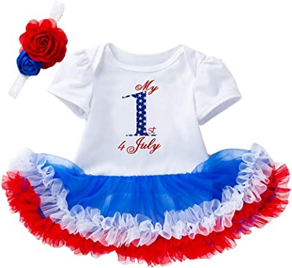 US Toddler Kids Baby Girl Infant Clothes Romper Tops Tutu Bloomer Pants Outfits