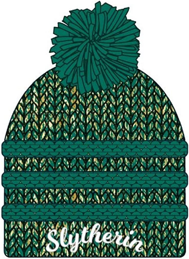 Hogwarts Houses Winter Beanie Hat with Pom Bioworld Harry Potter