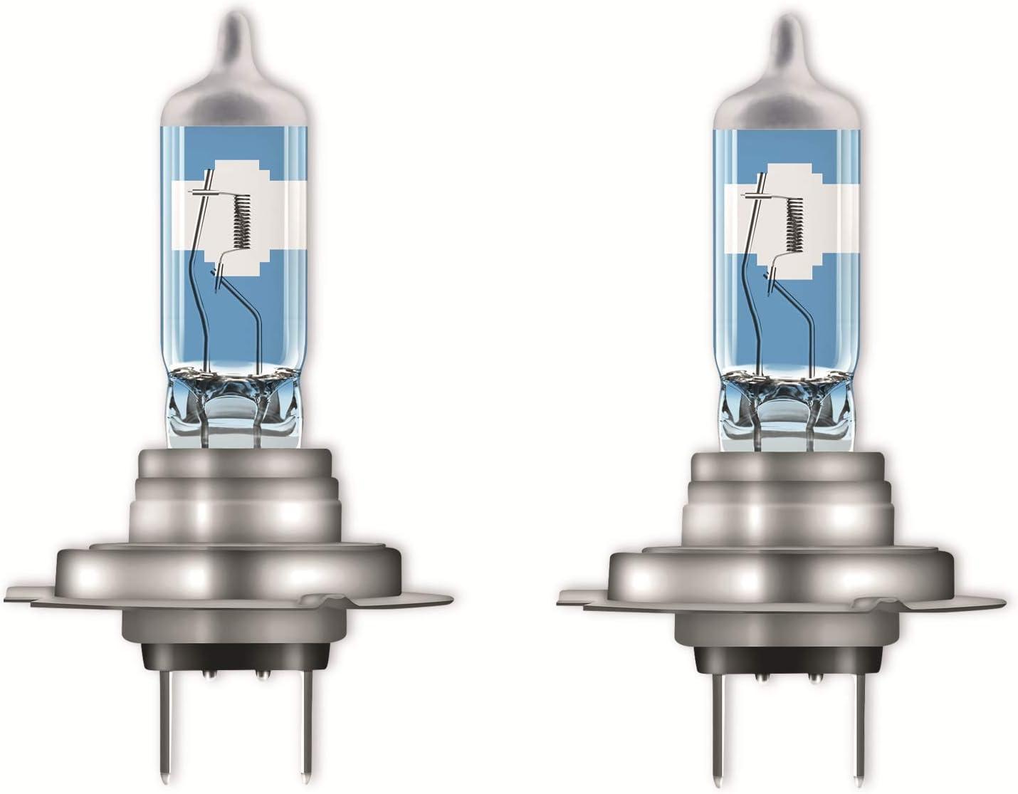 OSRAM NIGHT BREAKER LASER H7, Gen 2, +150% más luz, bombillas H7 para faros delanteros, 64210NL-HCB, 12V, duo box (2 lámparas)