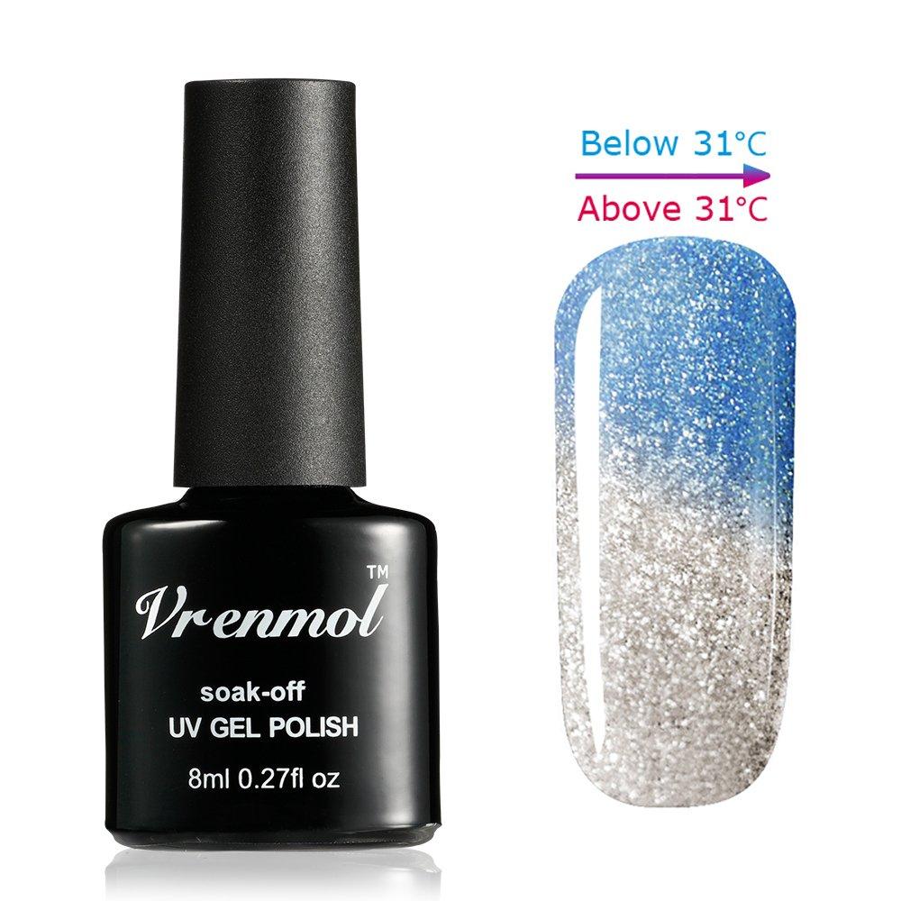 Amazon.com : Vrenmol Soak Off UV LED Gel Nail Polish Temperature ...