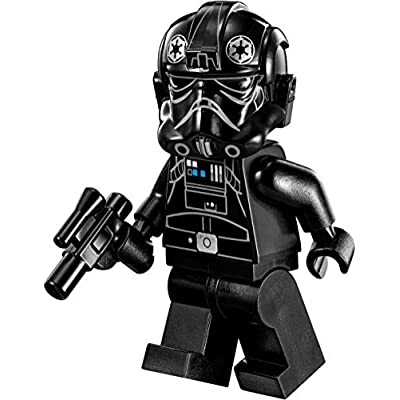LEGO Star Wars Imperial Assault Carrier Minifigure - Tie Pilot with Blaster Gun (75106): Toys & Games