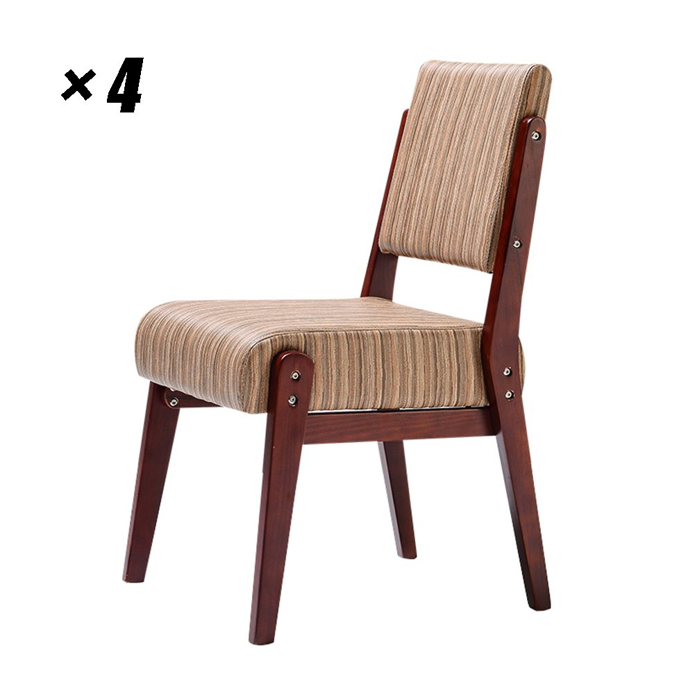 Wooden office chair simple modern dining chairs european style kitchen seat for household conference cafe lounge 47 5x51x83cm color style 1