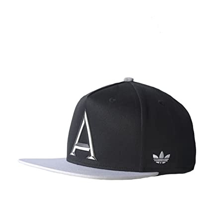 Adidas Gorra Snapback Blanco y Negro para Hombre, Hombre, Black and White Snap Back