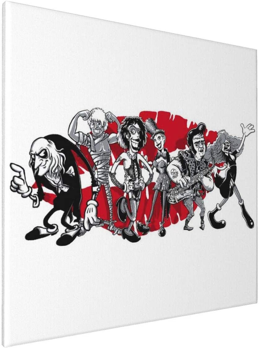 1007 Canvas Prints Wall Art Paintings(20x20in) Rocky Horror Picture Show Gang of Six Pictures Home Office Decor Framed Posters & Prints