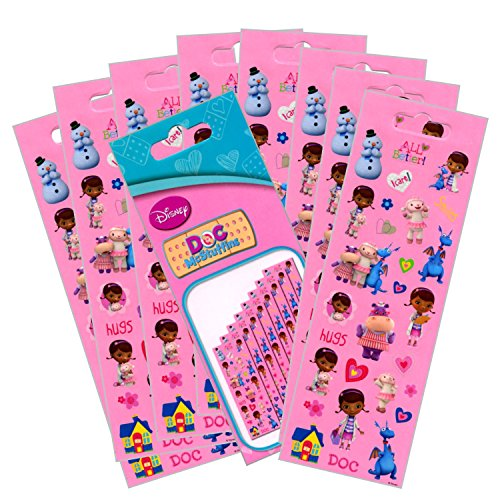 McStuffins Party Favors Stickers Pack