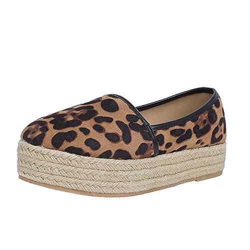 Jodier Plataforma Hueca para Mujer Zapatos Casuales Color SóLido ...