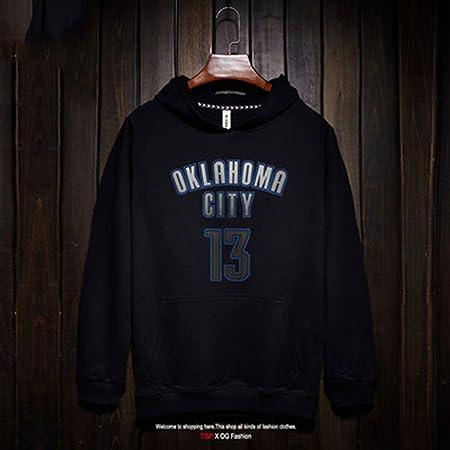 ENTHUSIAST Sudadera con Capucha para Hombre Oklahoma City Thunder ...