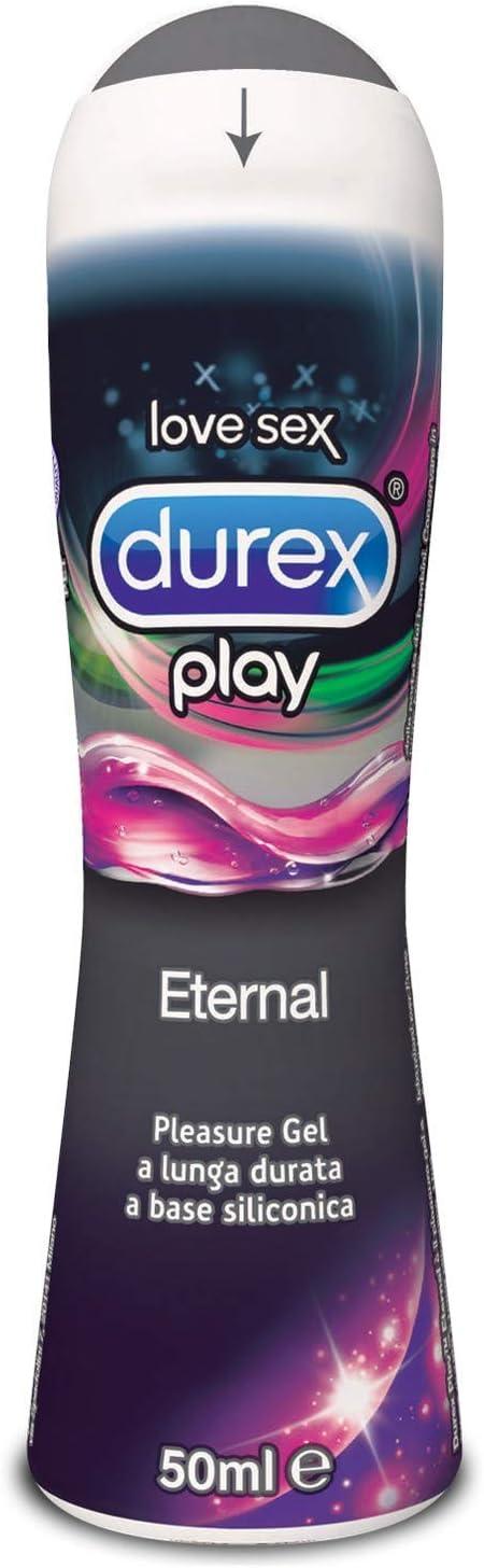 Durex Pleasure Gel Lubrificante Intimo, Eternal, 50 ml