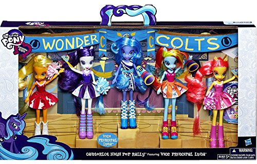 My Little Pony Equestria Girls Canterlot High Pep Rally Collection by My Little Pony