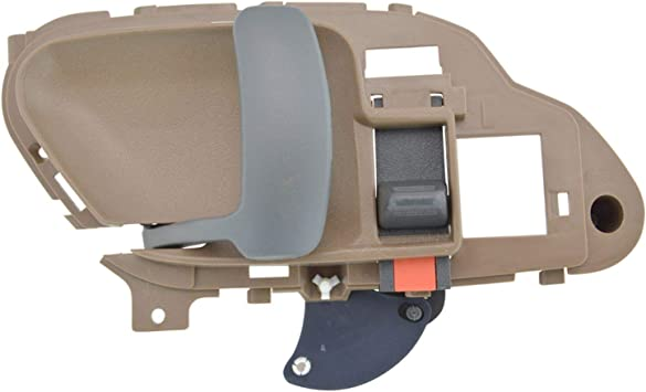 Amazon Com Door Handle Inside Interior Tan Beige Driver Side Left Lh For Chevy Gmc Automotive