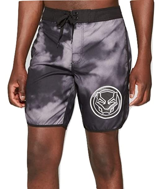 """46204cd615 Image Unavailable. Image not available for. Color: Marvel Black Panther  11"""" Men's Guys Board Shorts ..."""