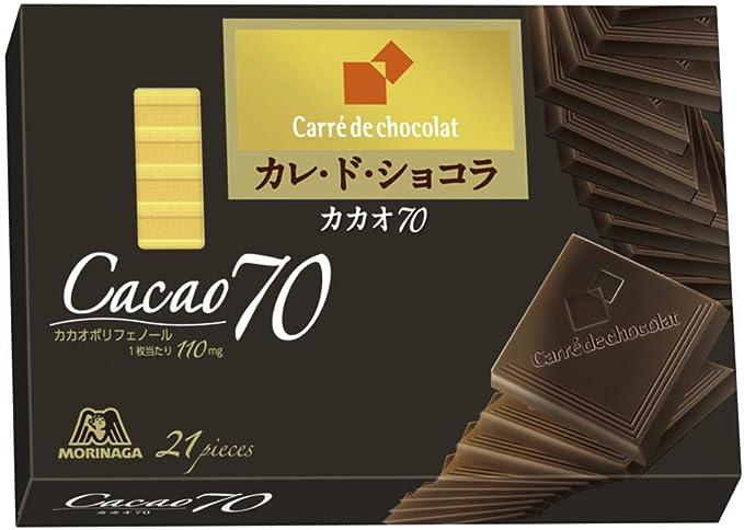 「カレ・ド・ショコラ カカオ70」の画像検索結果