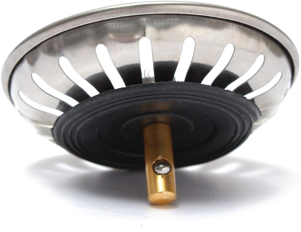 EgBert 83Mm Reemplazo Tamiz Residuos Fregadero Cocina Tapones Se Adapta A La Mayor/ía De Los Fregaderos Modernos Franke