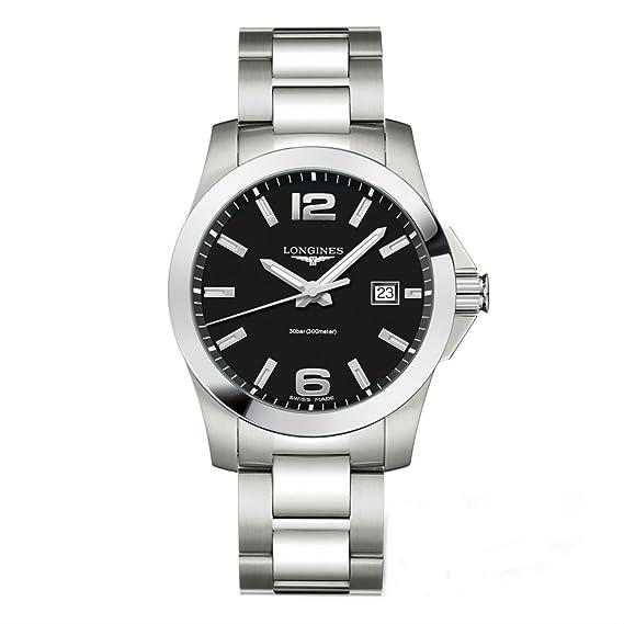 Longines L37594586_wt Reloj de pulsera para hombre