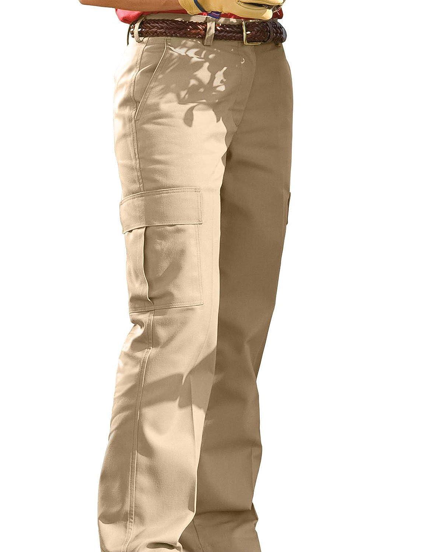 Edwards Garment Women's Two Pocket Straight Leg Cargo Pant 8573