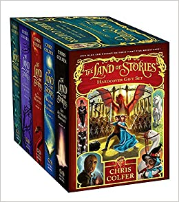 The Land of Stories Hardcover Gift Set: Chris Colfer